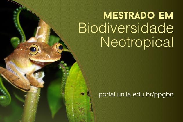 Mestrado em Biodiversidade Neotropical banner site