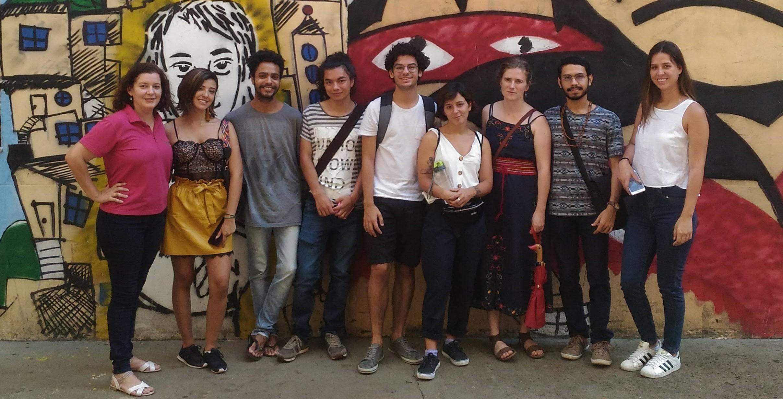 Grupo de alunos que farão intercâmbio na UNILA em 2019