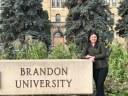 Laisa Hosoya passará seis meses na Brandon University (Canadá), dando sequência à sua pesquisa sobre violência de gênero e doméstica contra as mulheres Guarani