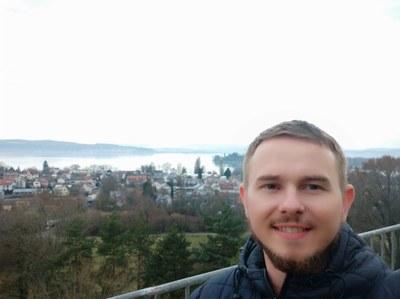 Richard Lambrecht faz doutorado no Instituto de Limnologia da Universidade de Konstanz