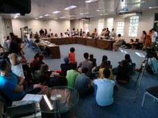 Reunião do Consun em 2017 em que foi aprovada a Política de Equidade de Gênero
