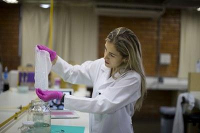 Samara Silva de Souza está entre os nove pesquisadores contemplados com a bolsa de Pós-Doutorado Empresarial do CnPq