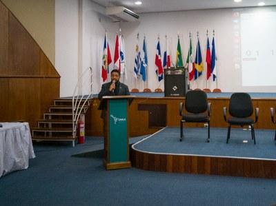 Reitor Gleisson Brito presidiu a audiência realizada na quarta-feira (16)