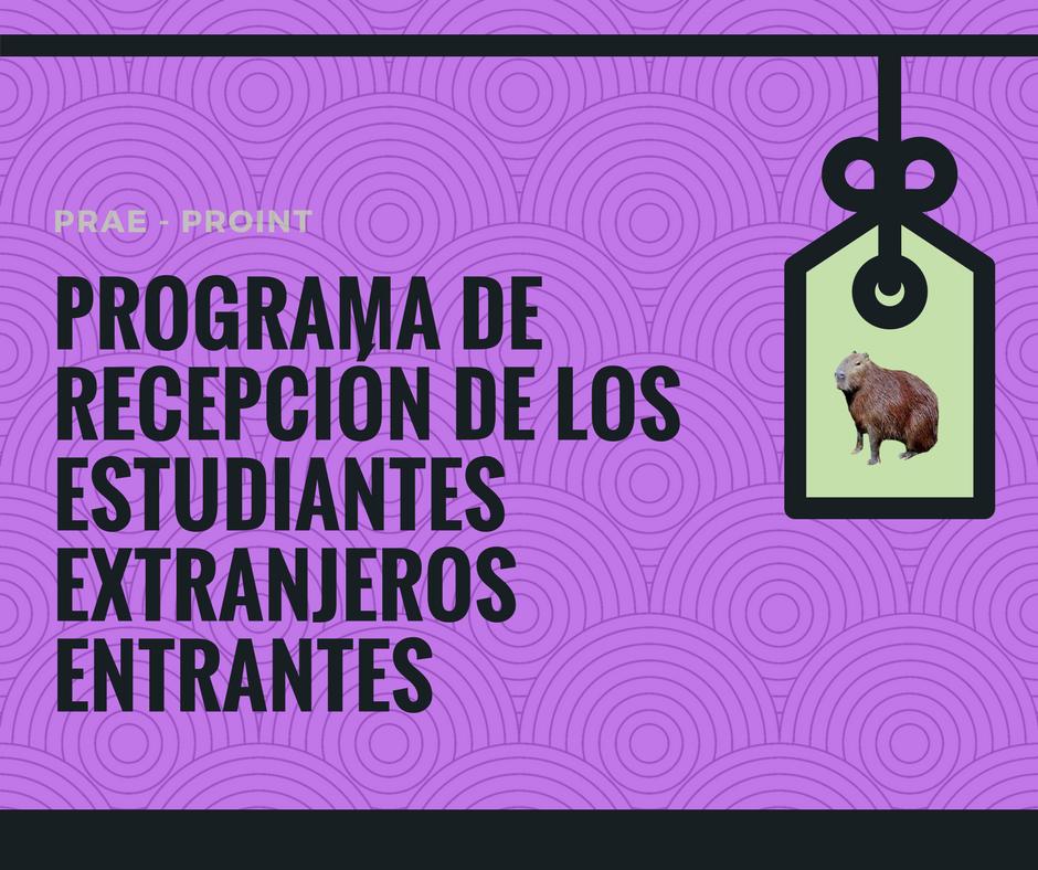 Programa de Recepção dos Estudantes Estrangeiros