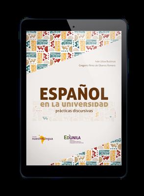 Capa do livro Español en la Universidad