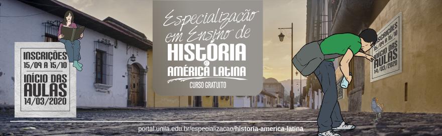 Especialização Em Ensino de História e América Latina