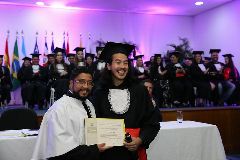 Yuri Alfonso Yang foi homenageado com um diploma especial
