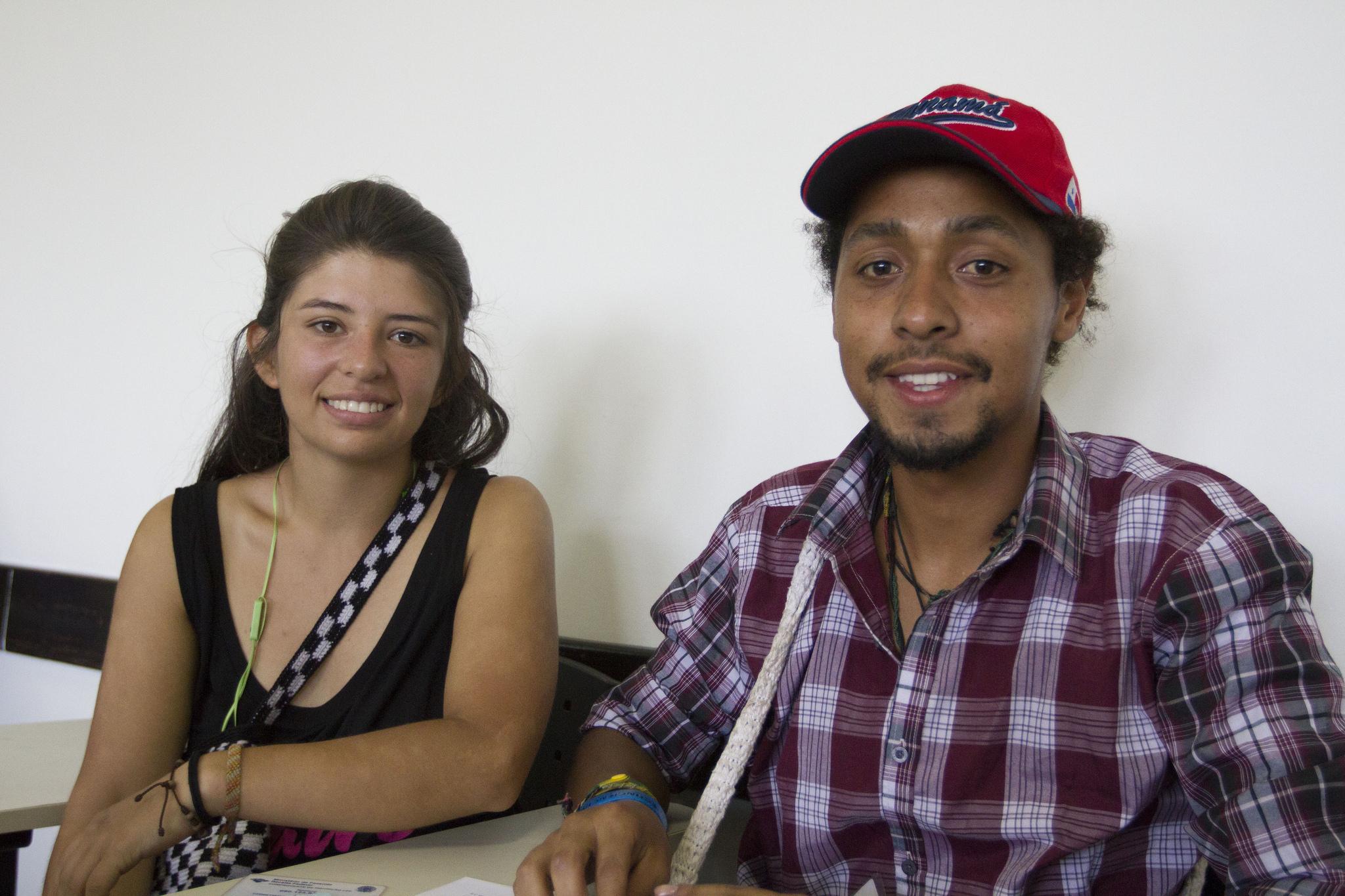 Alisson Medina e Christian Pinilla
