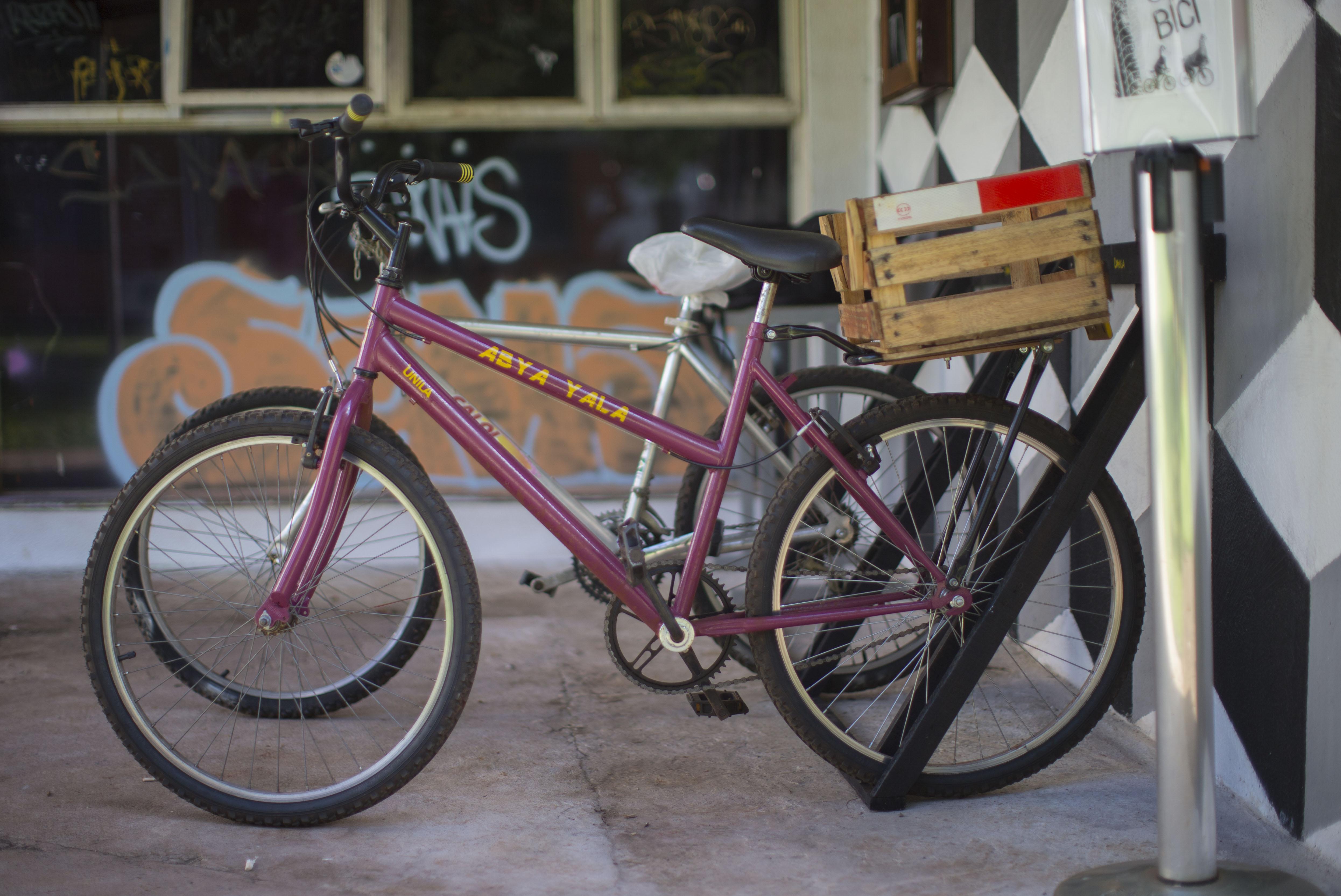 Bicicletas à disposição da comunidade acadêmica