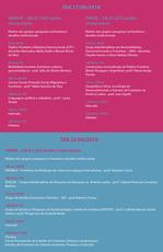 Programação completa do Fórum Permanente de Estudos da Fronteira