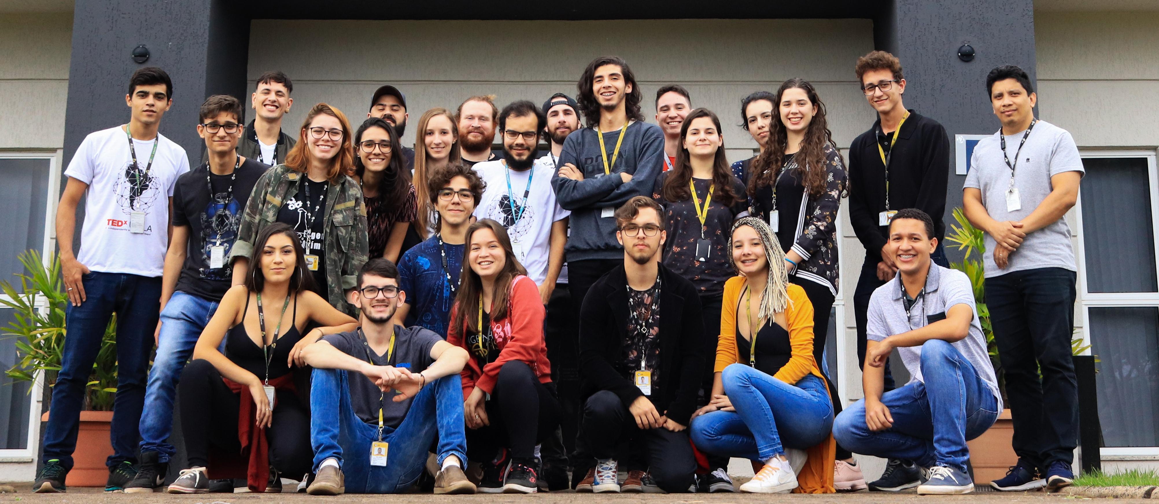 Equipe da Missão Capivara
