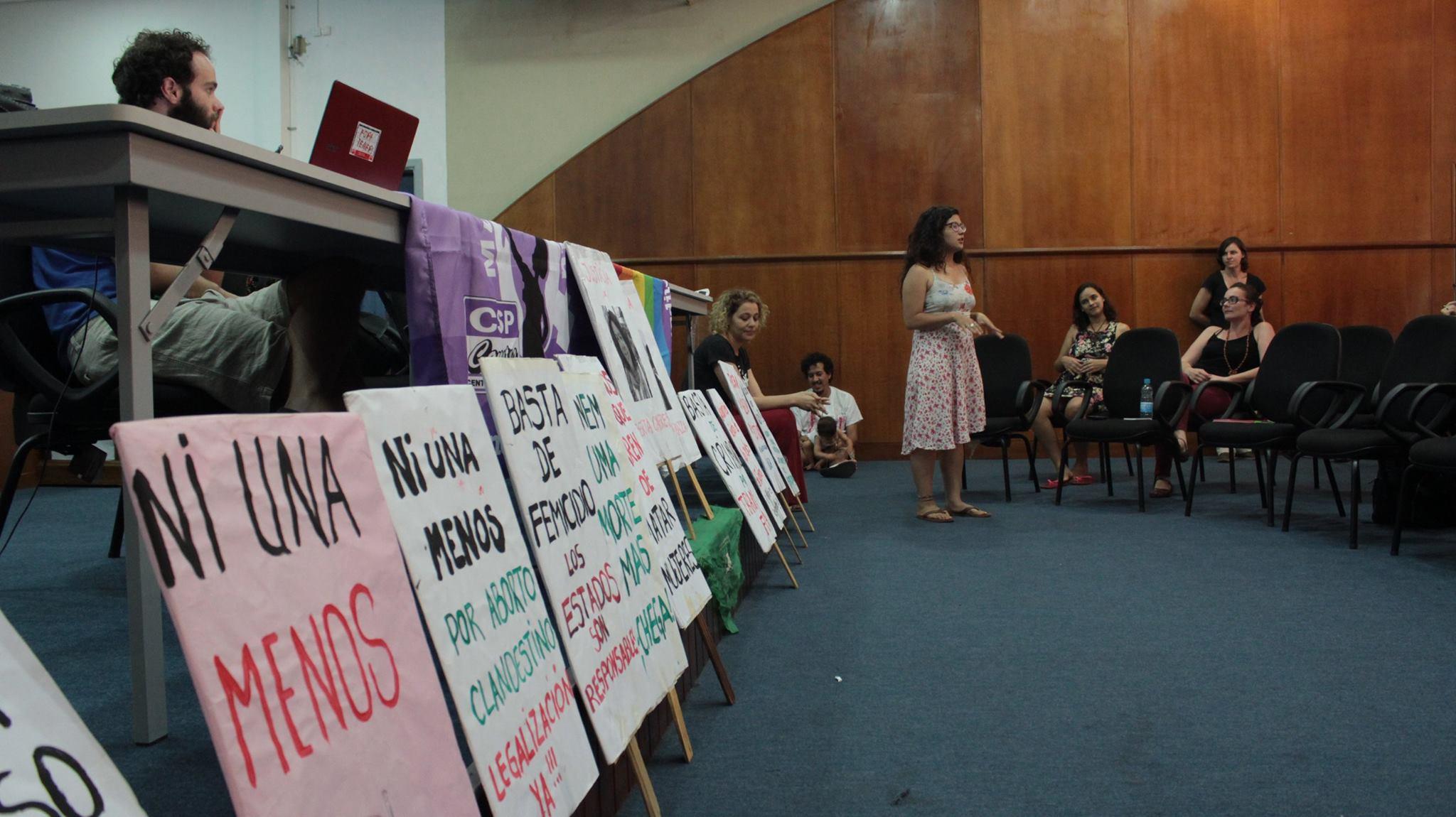 Debate do Fórum Permanente de Equidade de Gênero da UNILA. Foto/Página do Fórum
