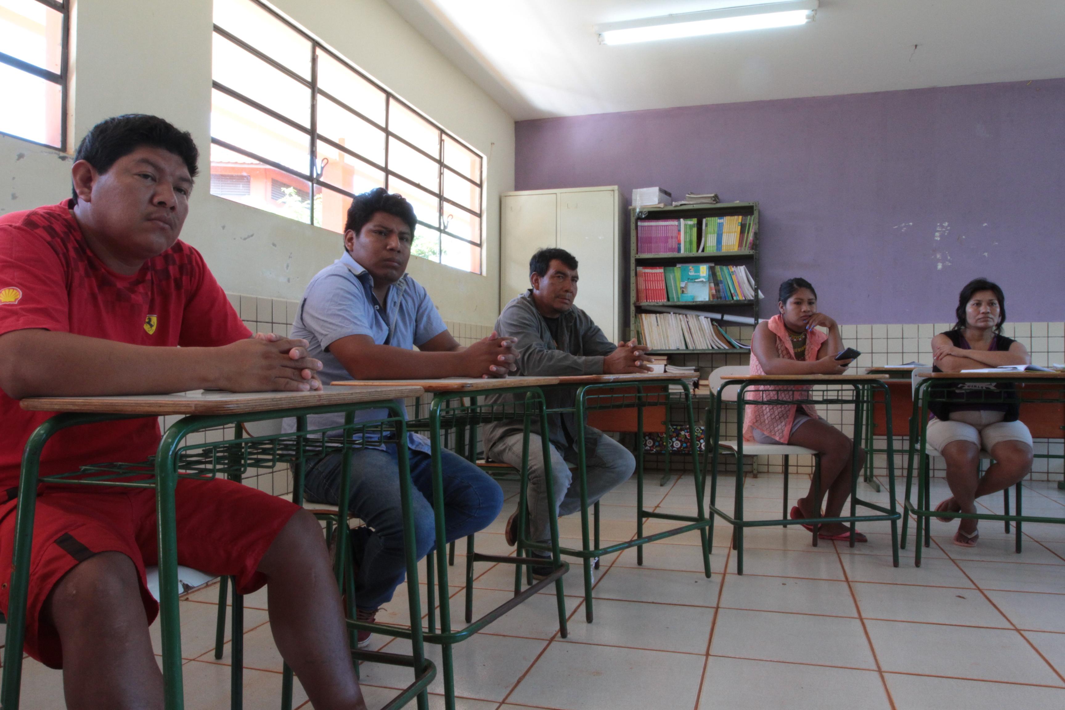 Hilário Alves, Francisco Pereira, Isário Vaz, Rosilda Lopes e Delmira Peres