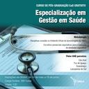 Especialização em Gestão em Saúde