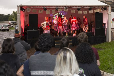 Festival latino-americano promovido no Jardim Universitário em 2018