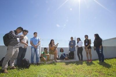 Recepção de alunos indígenas em 2019
