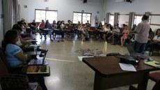 Pessoas em uma sala de aula