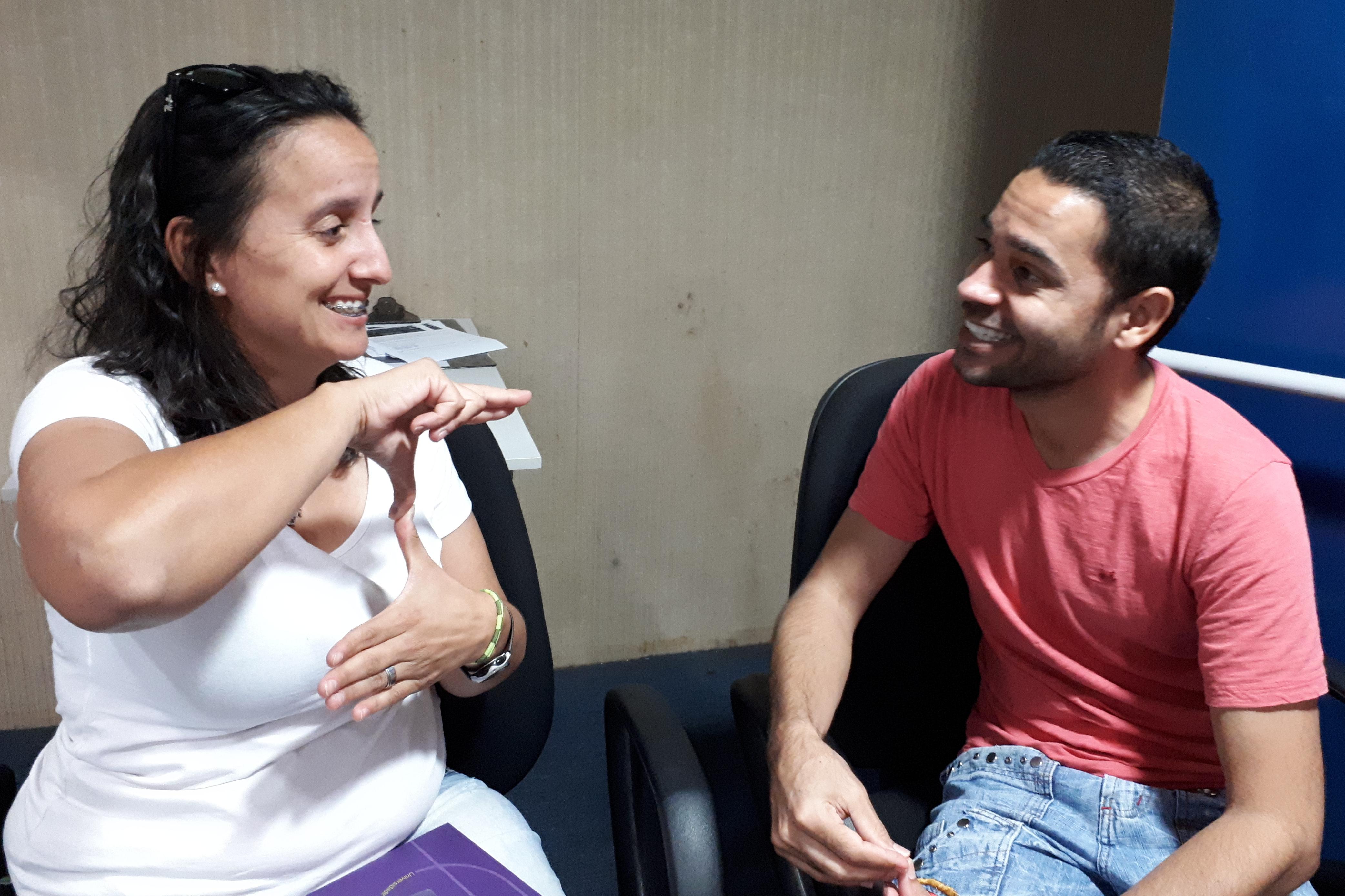 Caroline Moreira Rodrigues, caloura de Cinema e Audiovisual