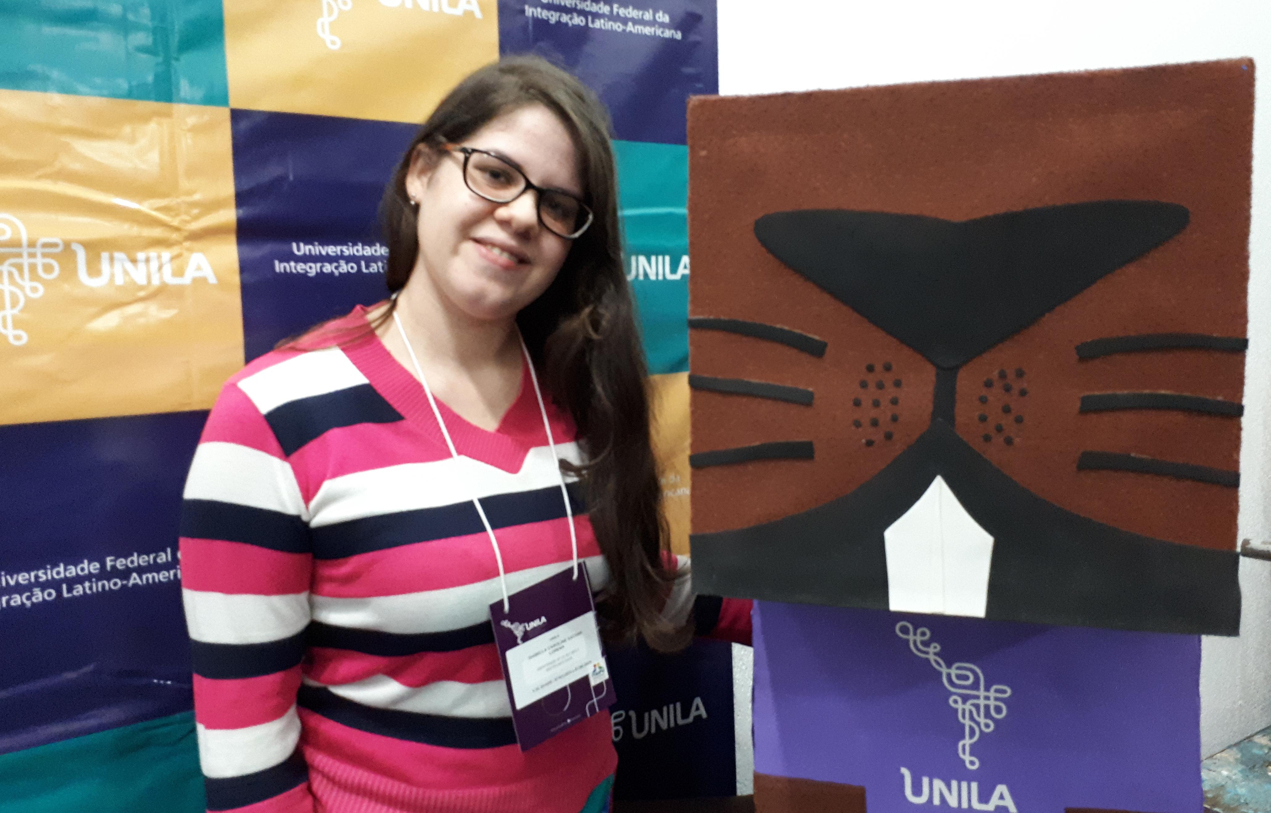 Isabella Lorena, caloura de Biotecnologia