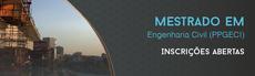Mestrado em Engenharia Civil está com inscrições abertas