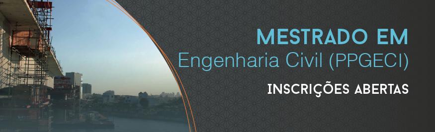Banner mestrado em Engenharia Civil