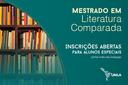 Mestrado Literatura Comparada