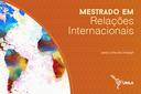 O período de inscrições é de 1º a 25 de outubro; todas as fases de seleção serão por meio virtual e podem ser realizadas em português, espanhol ou inglês