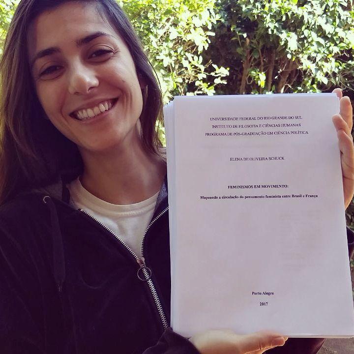 Elena Schuck, docente do curso de Ciência Política e Sociologia: epistemologias feministas do Sul Global
