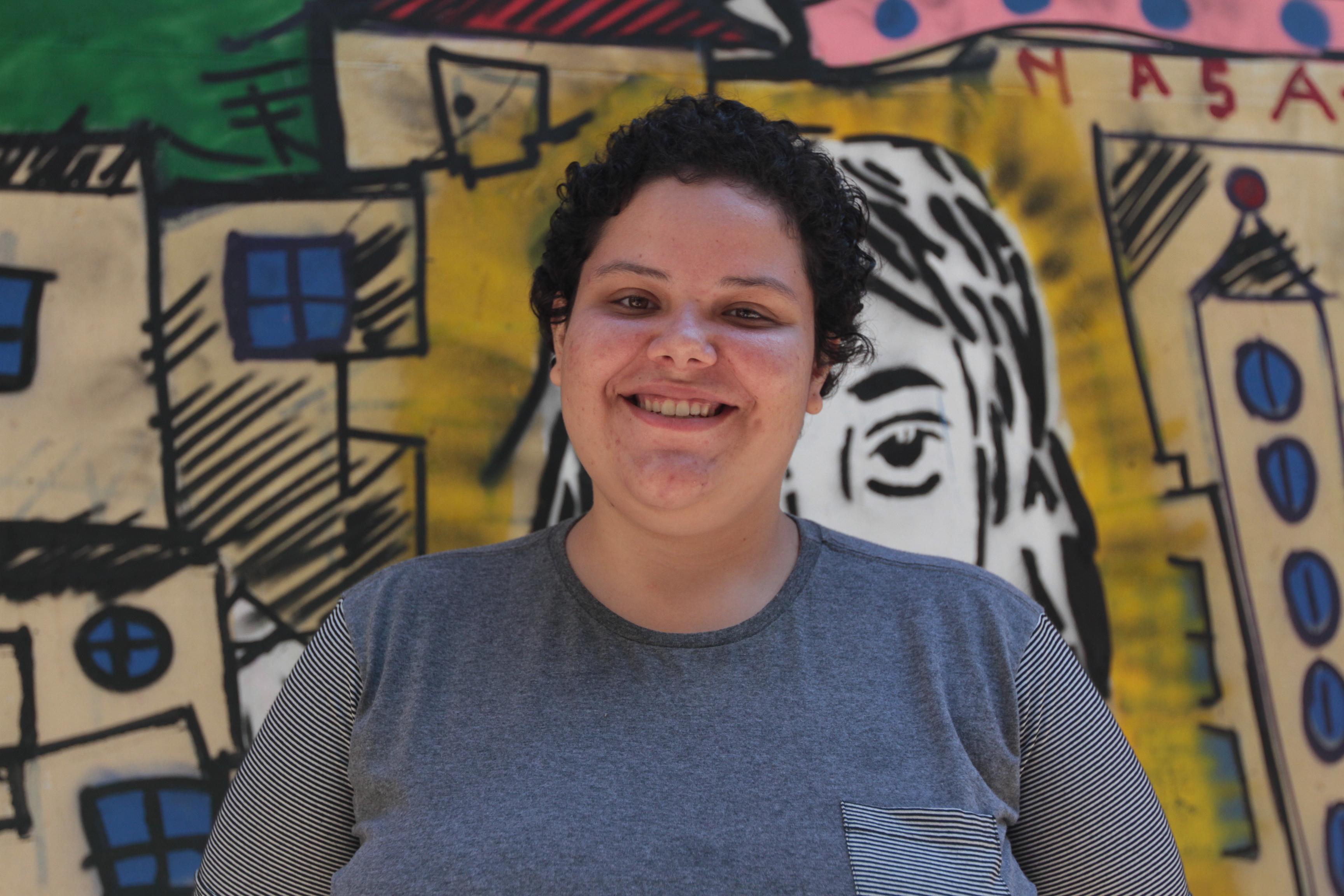 A estudante Sigrid Beatriz Varanis, do curso de História - América Latina: diálogo