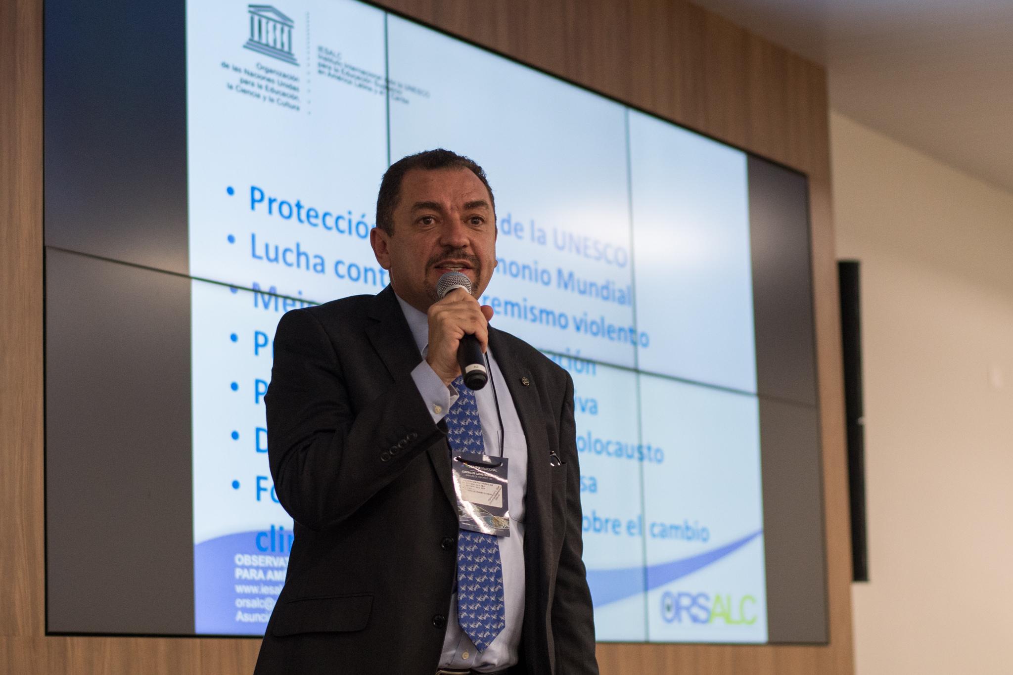 Humberto Grimaldo Durán, representante da Orsalc