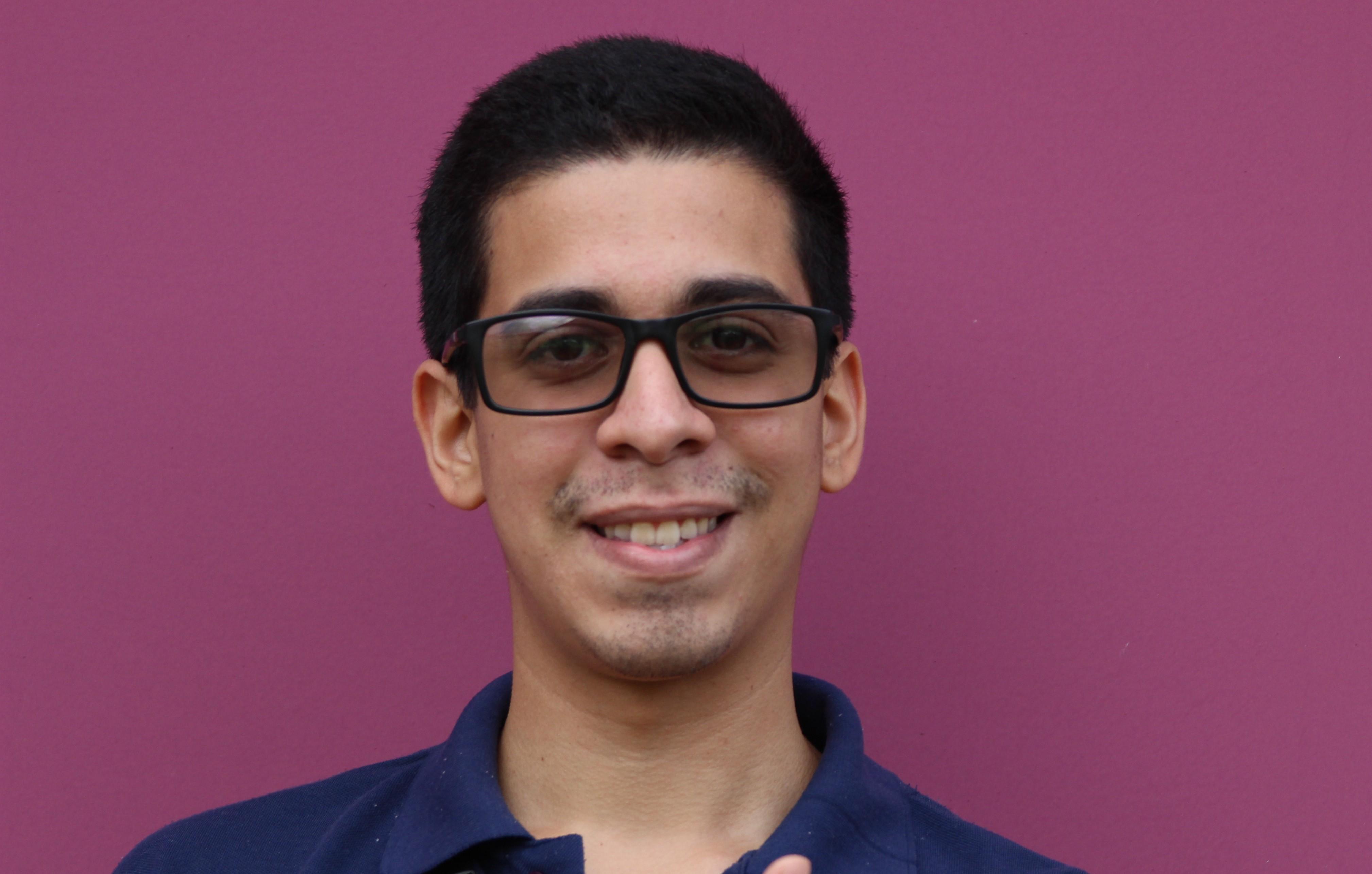 Foto do estudante Carlos Torres