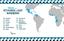 Distribuição, por país, dos inscritos no processo para refugiados e portadores de visto humanitário
