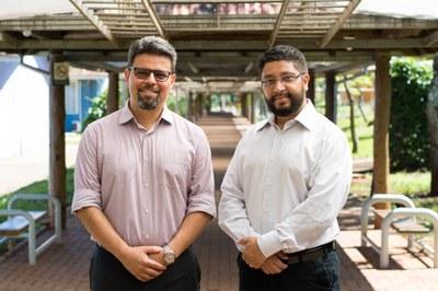 Os professores Gleisson Alisson Pereira de Brito e Luis Evelio Garcia Acevedo estarão no comando da UNILA no período 2019-2022
