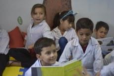 Inauguração da biblioteca na Escuel 722, de Puerto Iguazú
