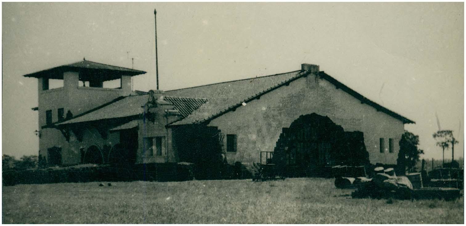 Primeiro aeroporto de Foz do Iguaçu - fonte Biblioteca do IBGE