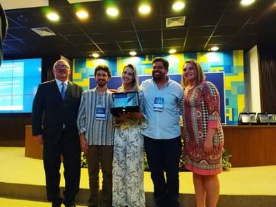 A premiação foi realizada no mês de novembro, durante o 20º Seminário Ética na Gestão, realizado em Brasília