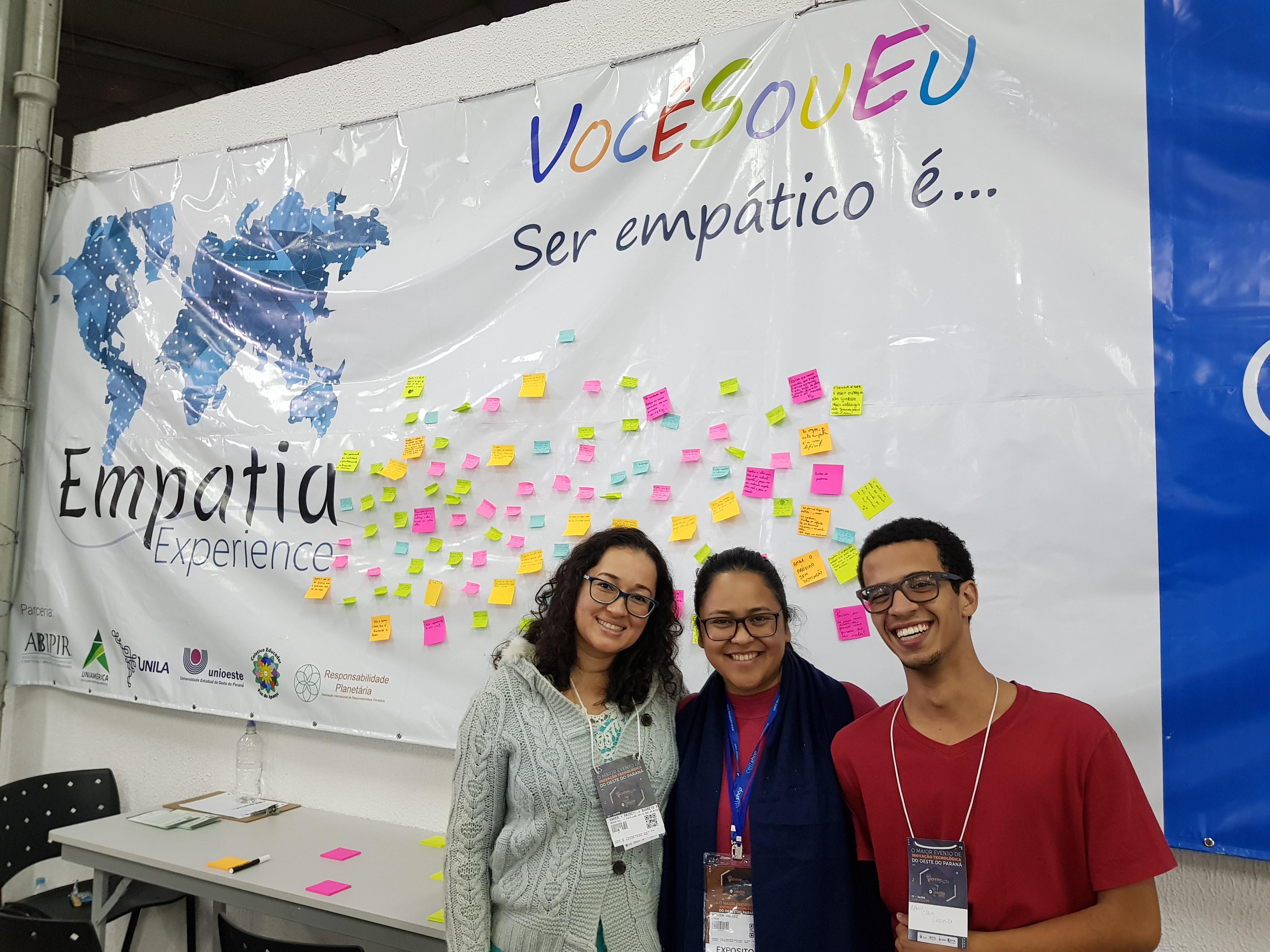 UNILA também participou de atividades que visam promover a experiência da empatia