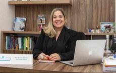 Ilka Serra, coordenadora do Núcleo de Tecnologias para Educação da UEMA - (Foto: Rafael Carvalho/UEMA)