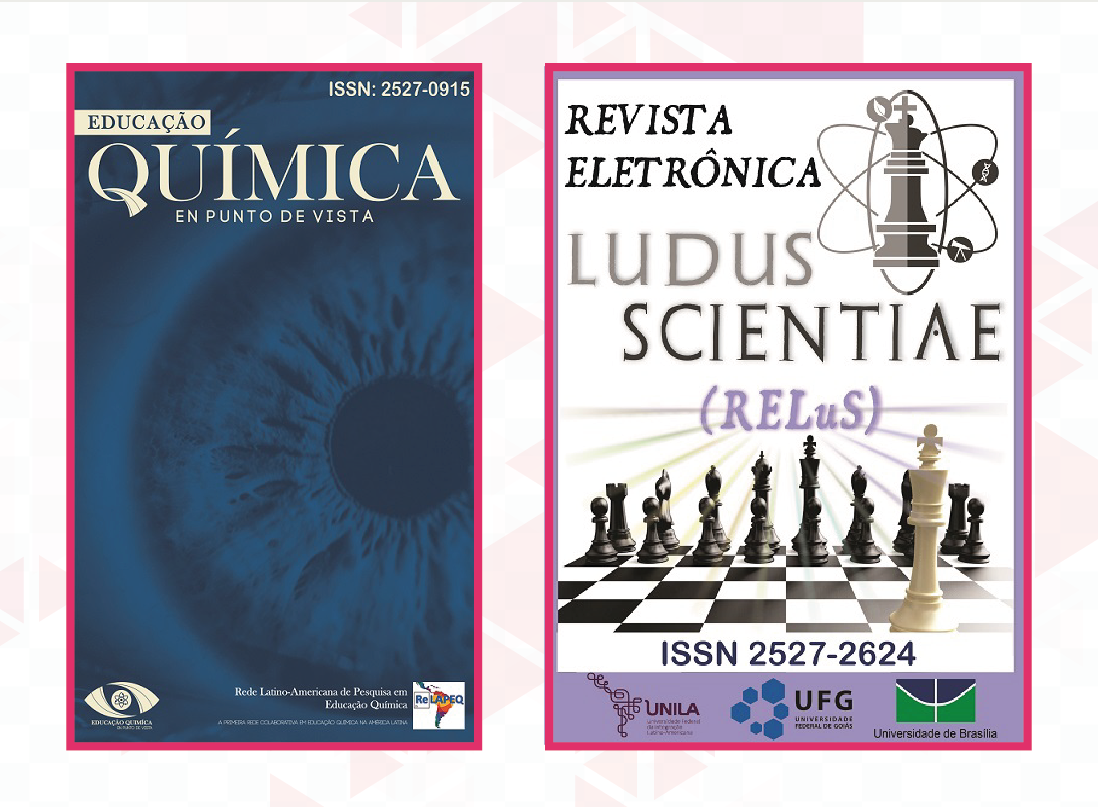 revistas educação química e ludus scientiae
