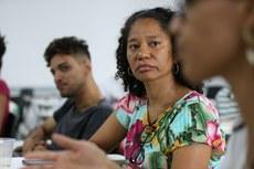 Angela Maria de Souza, uma das coordenadoras da Semana:  o caminho ainda é longo