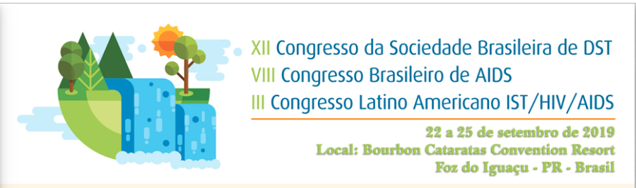 Marca do 12º Congresso da Sociedade Brasileira de DST