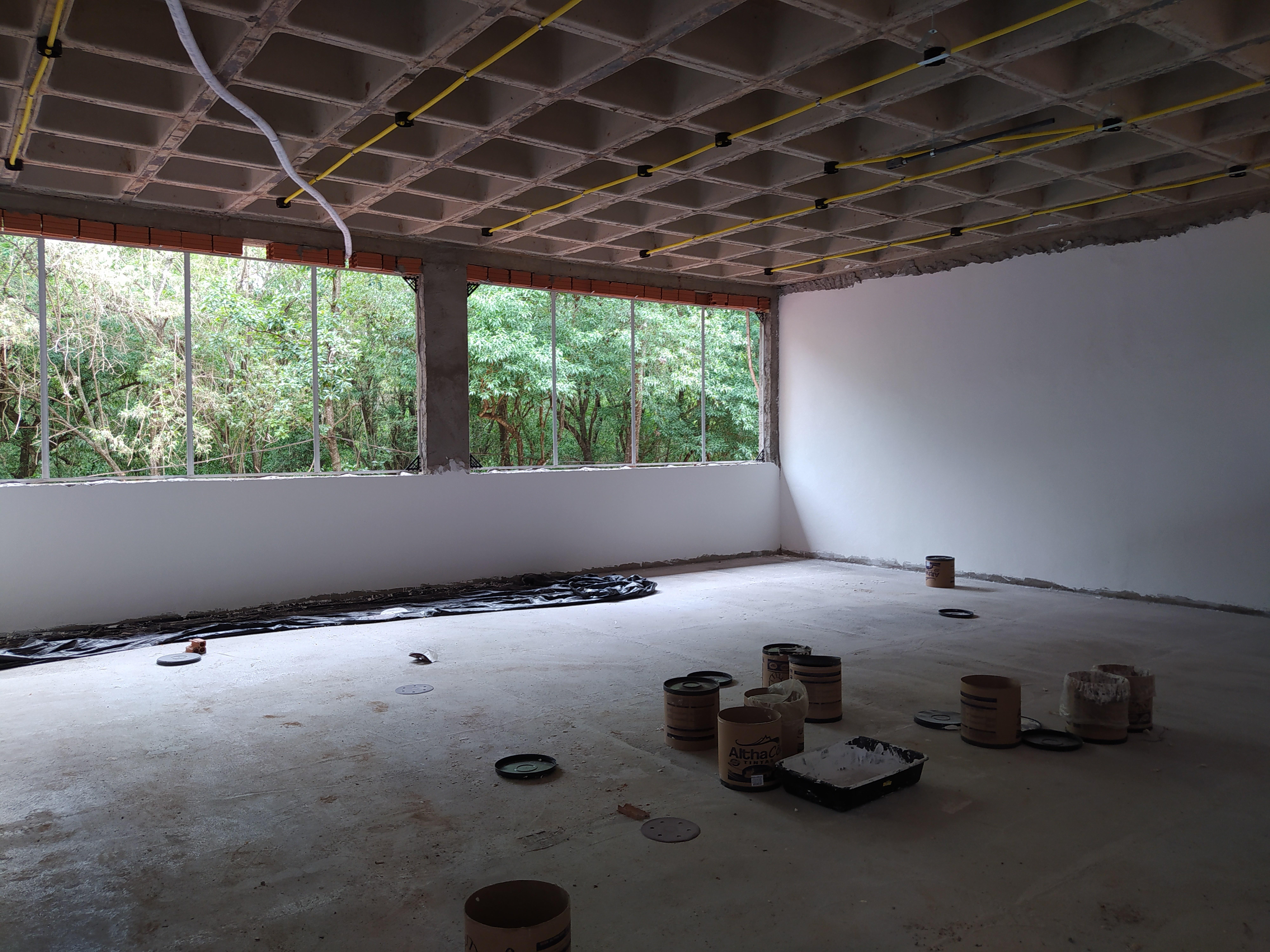 Bloco de Aulas 1 em construção