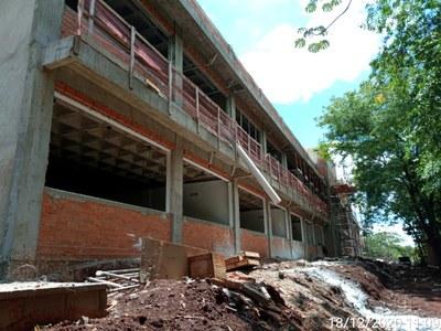Com esta nova construção a Universidade começa 2021 com duas obras em andamento