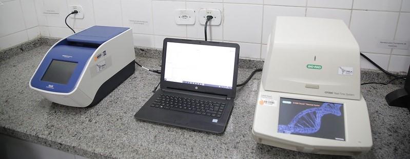 Exame utiliza técnicas de biologia molecular para fazer uma busca minuciosa pelo material genético do Sars-Cov-2