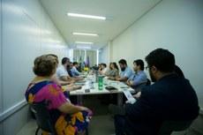 Reunião entre gestores da UNILA e da UNILAB
