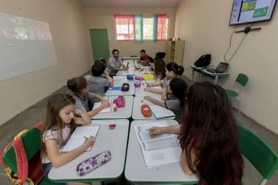 Por enquanto, duas escolas municipais recebem as aulas ofertadas pela UNILA