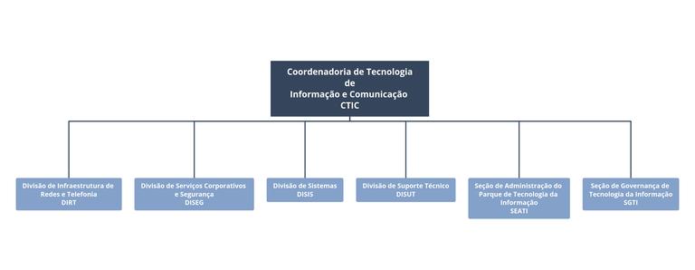 Estrutura Organizacional da CTIC