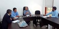 Reitor e vice-reitor visitaram o Conselho Municipal de Turismo de Foz do Iguaçu, na última semana