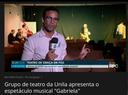 """Grupo de teatro da UNILA apresenta o espetáculo musical """"Gabriela"""""""