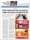 UNILA implantará aulas de espanhol e inglês nas escolas municipais de Foz